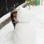 雪うさぎ・・・?